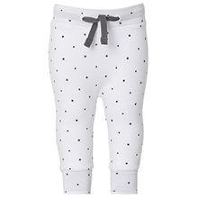 Noppies Unisex Baby Hose U Pants jrsy comfort Bo, Sternchen, Gr. 62 (Herstellergröße: 62), Weiß (White C001)