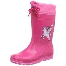 Beck Pferd pink 498, Mädchen Stiefel, pink, EU 24