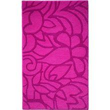 Esprit Badteppich Flower Shower - berry - 60 x 100 cm
