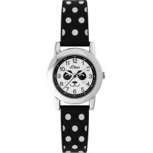 S.Oliver Uhr 'SO-3613-PQ' schwarz / silber / weiß
