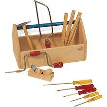 Werkzeugkiste mit Werkzeug
