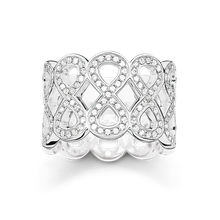 Thomas Sabo Bandring Infinity weiß TR2086-051-14-54