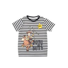 NAME IT T-Shirt navy / weiß