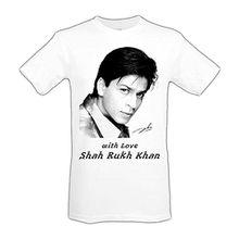 Bollywood Fanart Shah Rukh Khan T-Shirt für Damen & Herren, 100% Baumwolle (Gr. L)