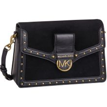 Michael Kors Umhängetasche Jessie Large Flap Shoulderbag Black