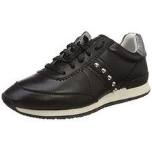 HUGO Damen Adrienne-ST Sneaker, Schwarz (Black), 38 EU