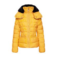 Desigual Winterjacke PADDED_SUNNA Outdoorjacken gelb Damen