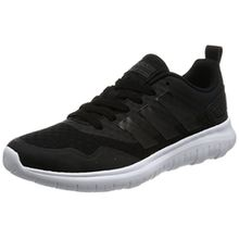 adidas Damen Cloudfoam Lite W AW4201 Sneaker, Mehrfarbig (Black 001), 38 EU