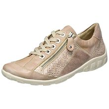 Remonte Damen R3419 Sneakers, Pink (Whitenude/Lightrose-Silver/Rose/31), 43 EU