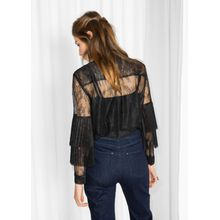 Lace & Layer Top - Black