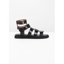 Gladiator Leather Sandal - Black