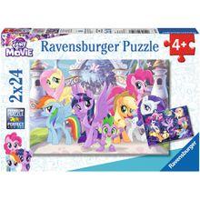 Ravensburger 2 X 24 Teile Zauberhafte Ponys