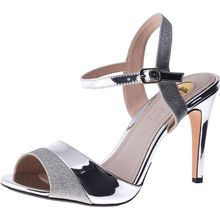 BUFFALO Aida Klassische Sandaletten silber Damen