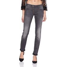 G-STAR Damen Skinny Jeanshose Lynn Zip Mid Wmn, Gr. W31/L34, Grau (medium aged 071)