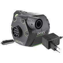elektrische Pumpe mit wiederaufladbarer Batterie, Pumpleistung 650 l/min schwarz