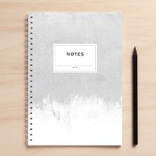 "Amy & Kurt Berlin A5 Notizbuch \Notes01 Beton\"""""