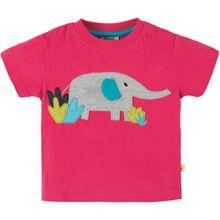 Frugi Kurzarmshirt - Elefant