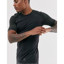 adidas - Ultra Primeknit - Schwarzes T-Shirt - Schwarz