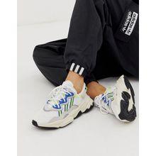 adidas Originals - Ozweego - Sneaker in Weiß und Blau - Weiß