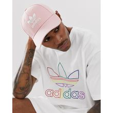 adidas Originals - Kappe mit Logo in Rosa - Rosa