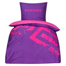 Wende Bettwäsche Chiemsee lila/pink 135x200 Kinderbettwäsche G17 600 WCS84 117