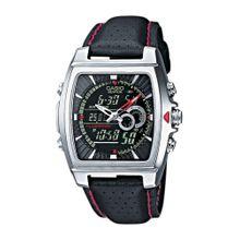 CASIO Edifice Armbanduhr schwarz / silber
