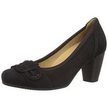 Gabor Shimmer, Damen Pumps, Schwarz - Black (Black Suede) - Größe: 37.5