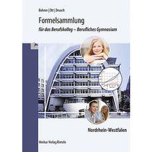 Buch - Formelsammlung das Berufskolleg - Berufliches Gymnasium Nordrhein-Westfalen  Kinder