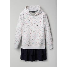 Marc O'Polo Girls Hoodie-Kleid allover|multicolored