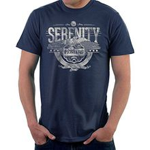 Serenity FireFly Pioneers Browncoats Unite Men's T-Shirt