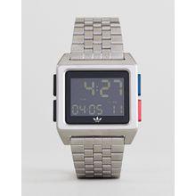 adidas - Z01 Archive - Digitale Armbanduhr in Silber - Silber