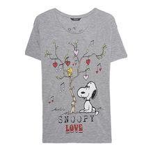 Peanuts Snoopy Lovetree Grey
