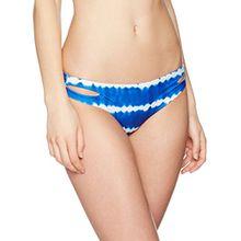 Watercult Damen Bikinihose Slip Tie-Dye Tribe, Mehrfarbig (Pacific-White 695), 38