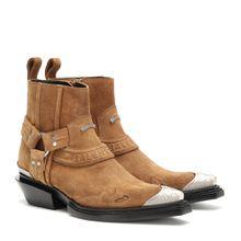 Verzierte Ankle Boots Santiag