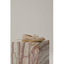 CLOSED Veloursleder Loafers light beige