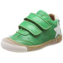 Bisgaard Unisex-Kinder Klettschuhe Sneaker, Grün (Green), 34 EU