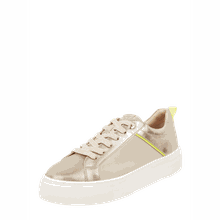 Plateau-Sneaker aus Veloursleder Modell 'Stan'