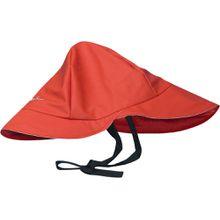 Playshoes Regenmütze mit Baumwollfutter rot