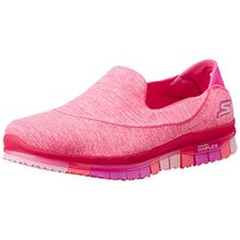 Skechers Damen Go Flex-Stride Funktionsschuh, Pink (Rose Foncé), 39 EU