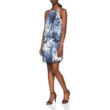 ONLY Damen Kleid Onlgusta S/L Dress Wvn, Blau (Navy Blazer Navy Blazer), 34