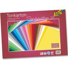Folia Tonkarton-Set 35 x 50 cm, 25 Bogen