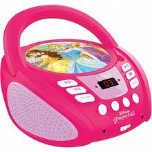 Disney Princess CD-Player mit Radio (neues Design) pink/rosa
