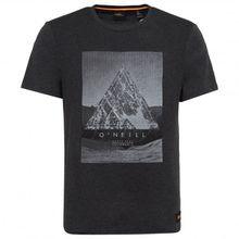 O'Neill - Fuller T-Shirt Gr L;M;S;XL;XXL grau;schwarz/grau