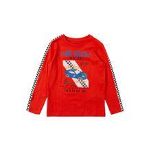 BLUE SEVEN T-Shirt feuerrot