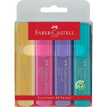 Textmarker pastell, 4 Farben