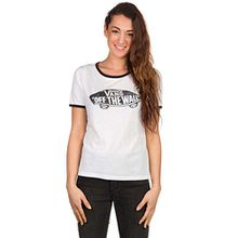 Damen Fashion Shirt kurz Vans Authentic Skate Ringer Shirt