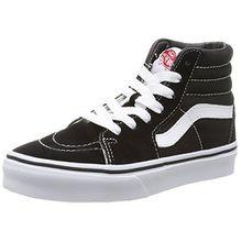 Vans K Sk8-hi, Unisex-Kinder Hohe Sneakers, Schwarz (Black/True White), 28 EU