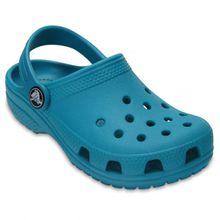 Crocs - Kid's Classic Clog - Sandalen Gr C10;C11;C12;C13;C4;C5;C6;C7;C8;C9;J1;J2;J3 rosa/rot;rot;türkis;blau;rosa;gelb;schwarz;lila;grau;grün;beige/rot;gelb/orange