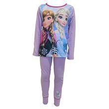 Disney Gefrorenes Elsa & Anna Mädchen Schlafanzug Alter 9-10 Jahre