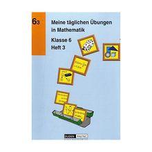 Buch - Meine täglichen Übungen in Mathematik: Klasse 6